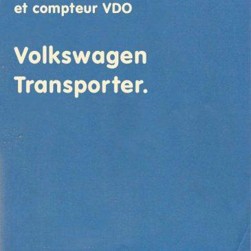 Montage mano et compteur VDO – 0008