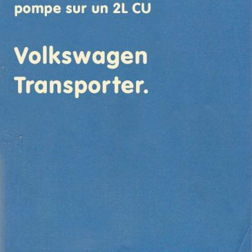 Modification carburateur/pompe sur un 2L CU – 0009